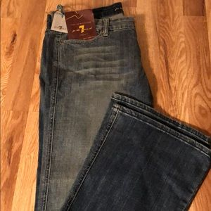 Brand new 7 for all mankind bell bottom jeans
